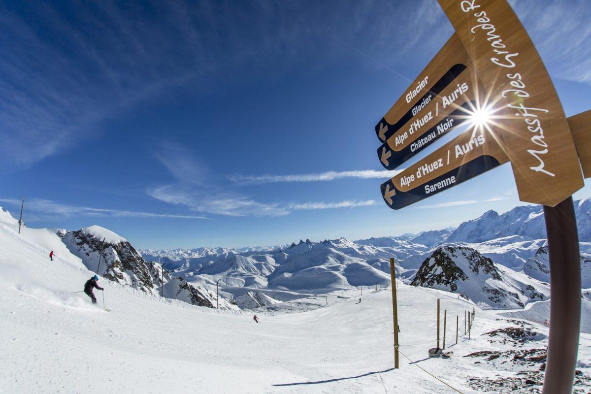 Pistes de ski alpin - Alpe d'Huez Grand Domaine Ski