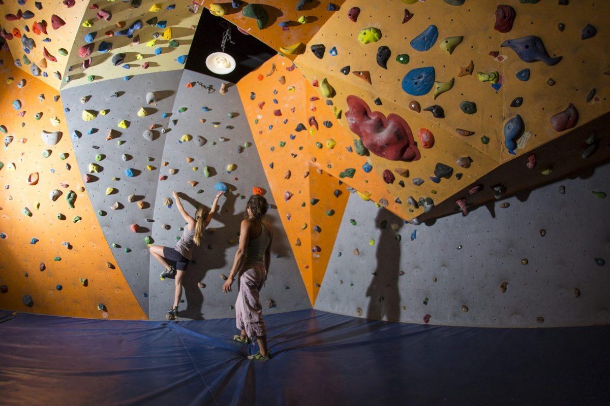 Salle de pan du Palais des sports de l'Alpe d'Huez