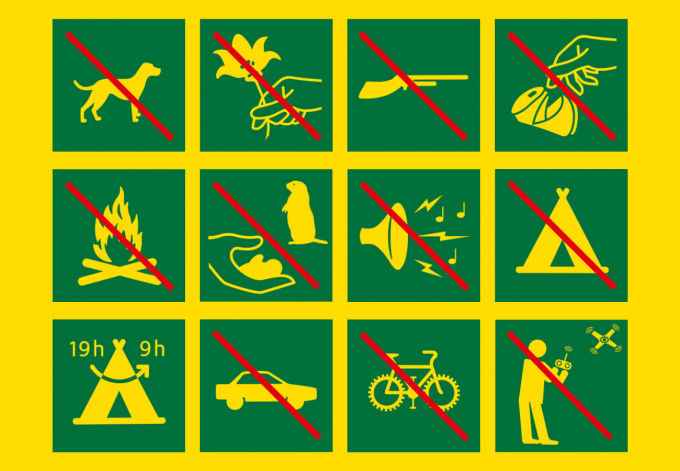 Réglementation du Parc national des Écrins
