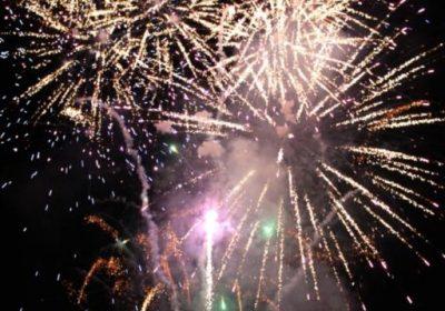 Soirée pyrotechnie : feu d'artifice