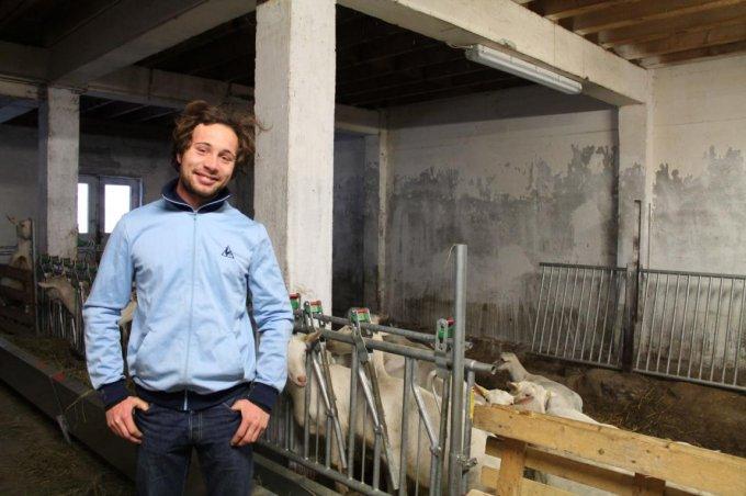 Clément, exploitant de la Chèvre…rie