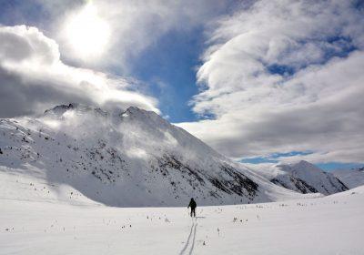 Ski de randonnée depuis à l'Alpe d'Huez